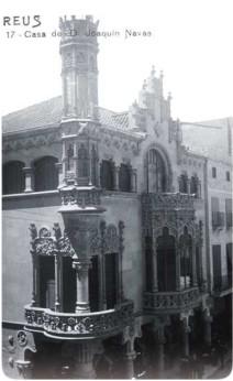 Casa Navàs, a Reus