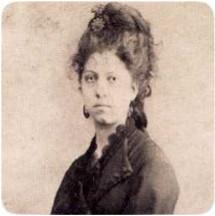 Maria Roura Carnesoltes, esposa d'en Lluís Domènech i Montaner